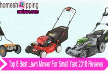 Top 8 Best Lawn Mower For Small Yard 2018 Reviews