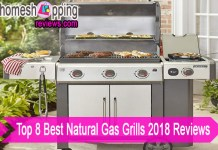 Top 8 Best Natural Gas Grills 2018 Reviews