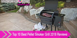 Top 10 Best Pellet Smoker Grill 2018 Reviews