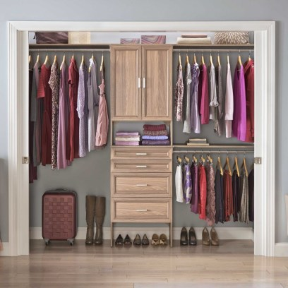 Amazing Closet Room Design Ideas For The Beauty Of Your Storage33