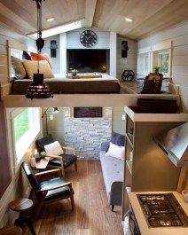 Attractive Simple Tiny House Decorations To Inspire You38