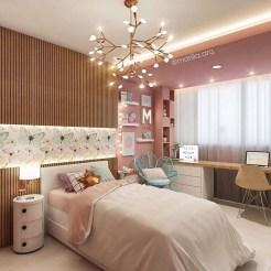 Attractive Teenage Bedroom Decorating Ideas For Comfort In Their Activities17