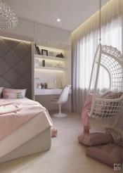 Attractive Teenage Bedroom Decorating Ideas For Comfort In Their Activities18