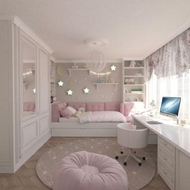 Attractive Teenage Bedroom Decorating Ideas For Comfort In Their Activities30