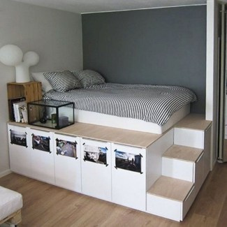 Awesome Bedroom Storage Ideas For Small Spaces24