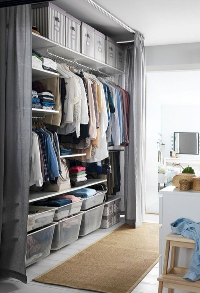 Awesome Bedroom Storage Ideas For Small Spaces26
