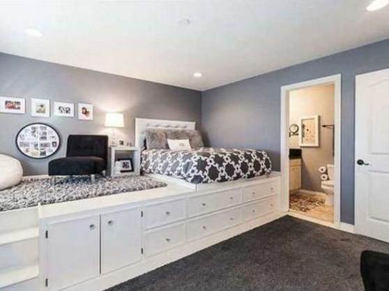 Awesome Bedroom Storage Ideas For Small Spaces44
