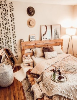 Beautiful Boho Rustic And Cozy Bedrooms10