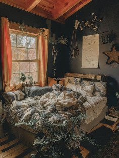 Beautiful Boho Rustic And Cozy Bedrooms23