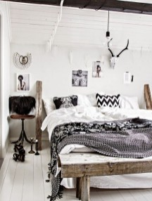 Beautiful Boho Rustic And Cozy Bedrooms38