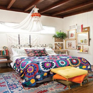 Beautiful Boho Rustic And Cozy Bedrooms44