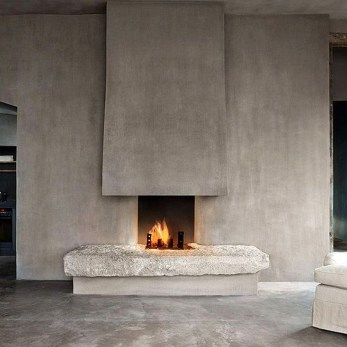 Beautiful Modern Fireplaces For Winter Design Ideas02