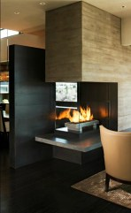 Beautiful Modern Fireplaces For Winter Design Ideas13