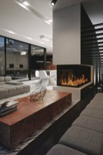 Beautiful Modern Fireplaces For Winter Design Ideas22