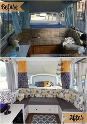 Best Wonderful Rv Camping Living Decor Remodel24