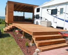 Best Wonderful Rv Camping Living Decor Remodel33