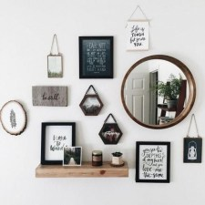 Creative Wall Decor For Pretty Home Design Ideas07