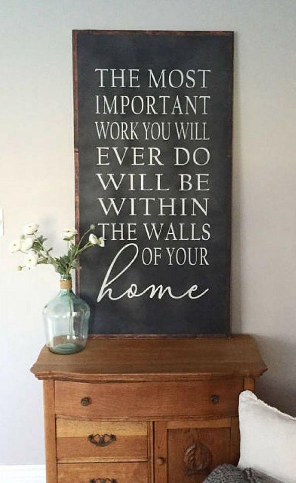 Creative Wall Decor For Pretty Home Design Ideas35