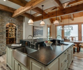 Fabulous Kitchen Island Decorating Ideas To Become A Comfortable Cooking Place For You18