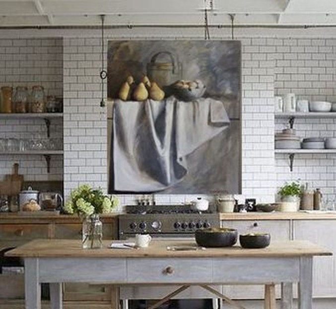 Fabulous Kitchen Island Decorating Ideas To Become A Comfortable Cooking Place For You34
