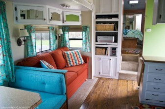 Gorgeous Rv Living Decoration For A Cozy Camping Ideas03