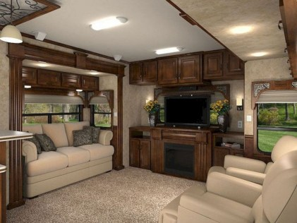 Gorgeous Rv Living Decoration For A Cozy Camping Ideas13