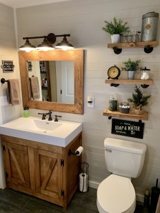 How To Decorate Your Small Bathroom Become More Comfortable And Beautiful19