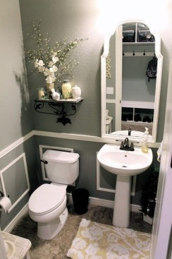 How To Decorate Your Small Bathroom Become More Comfortable And Beautiful47