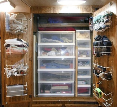 Top Ways To Organize Your Rvcamper Van Collections09