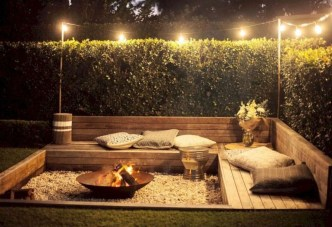 Amazing Backyard Decoration Ideas For Comfortable Your Outdoor01