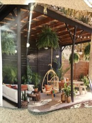 Amazing Backyard Decoration Ideas For Comfortable Your Outdoor34