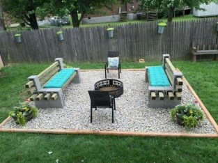 Amazing Backyard Decoration Ideas For Comfortable Your Outdoor43