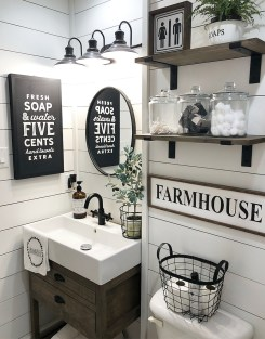 Amazing Industrial Bathroom Decorating Ideas For Your Inspiration21