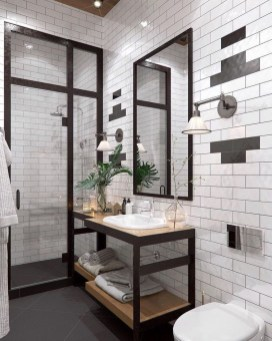 Amazing Industrial Bathroom Decorating Ideas For Your Inspiration36