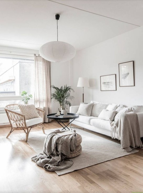 Amazing Scandinavian Living Room Decoration Ideas For The Beauty Of Your Home39