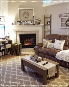 Attractive Winter Living Room Decoration Ideas For Warmth In The House22