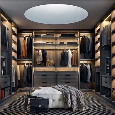 Awesome Closet Room Design Ideas For Your Bedroom02