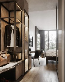Awesome Closet Room Design Ideas For Your Bedroom34
