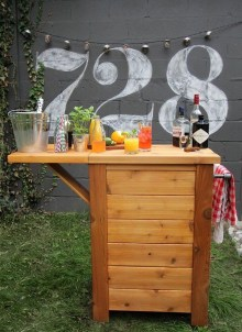 Awesome Outdoor Mini Bar Design Ideas You Must Have For Small Party05