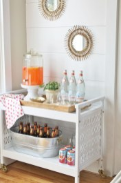 Awesome Outdoor Mini Bar Design Ideas You Must Have For Small Party31
