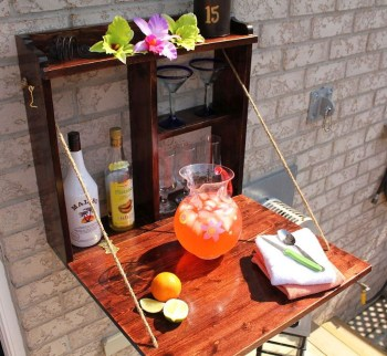 Awesome Outdoor Mini Bar Design Ideas You Must Have For Small Party32