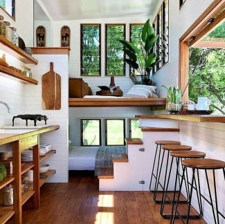 Awesome Tiny House Design Ideas For Your Family17