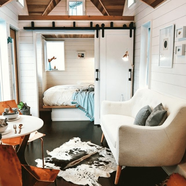 Awesome Tiny House Design Ideas For Your Family46