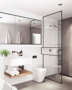 Beautiful Minimalist Bathroom Design Ideas For Your Home13