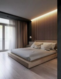Chic And Warm Minimalist Bedroom Interior Ideas For Feel Comfort02
