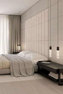 Chic And Warm Minimalist Bedroom Interior Ideas For Feel Comfort08