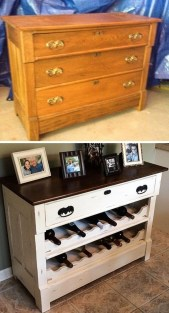 Creative Ideas To Change Old And Unused Items Into Beautiful Furniture04