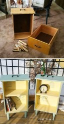 Creative Ideas To Change Old And Unused Items Into Beautiful Furniture19
