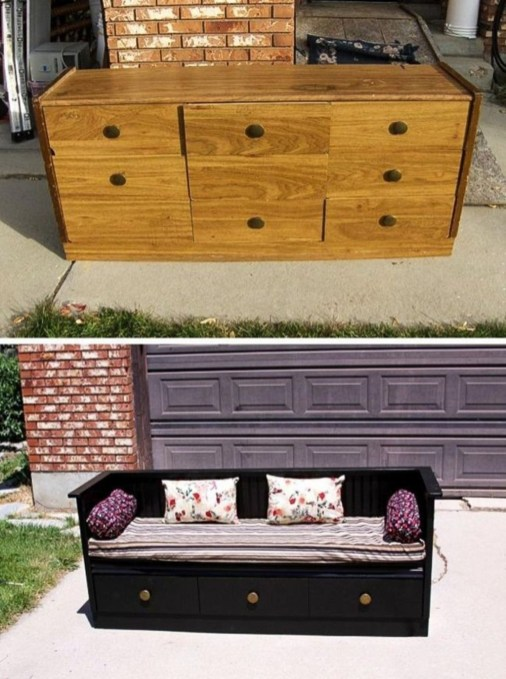 Creative Ideas To Change Old And Unused Items Into Beautiful Furniture45