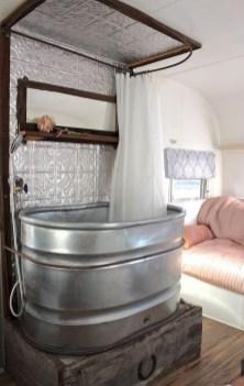 Elegant Airstream Decorating Ideas For Comfortable Holidays Trip41
